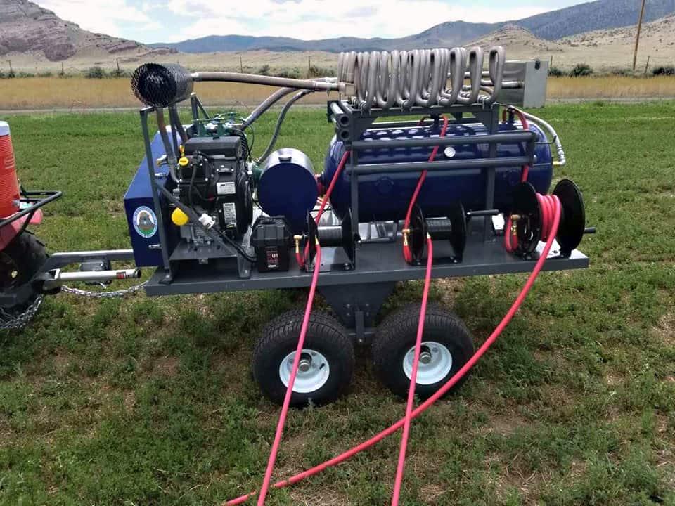 Utah Gopher Control equipment